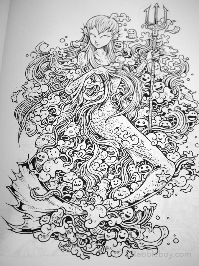 Best 25 Doodle Invasion A Crazy Coloring Book By Kerby