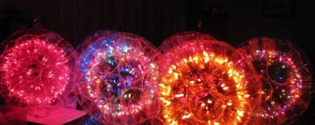 Instrucciones para hacer esferas luminosas con vasos desechables | La Bioguía
