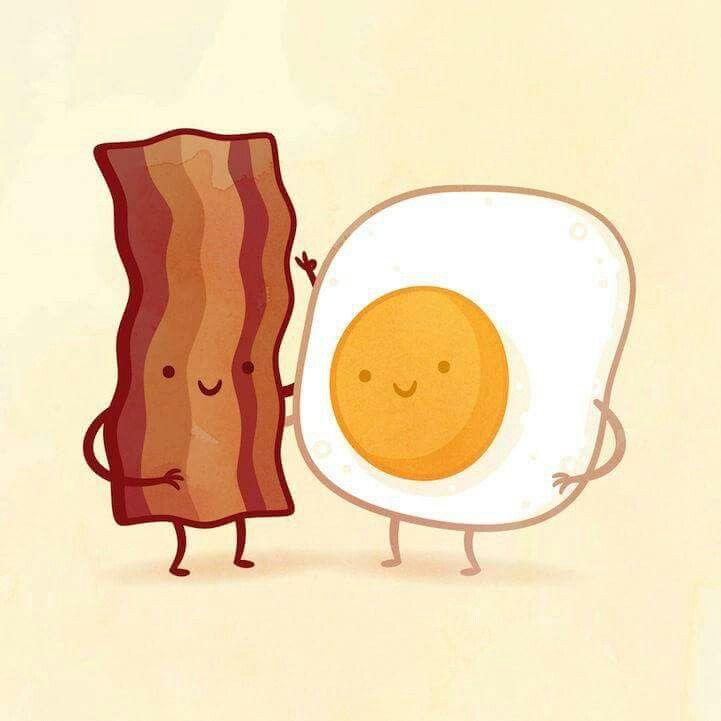 Tocino con huevo