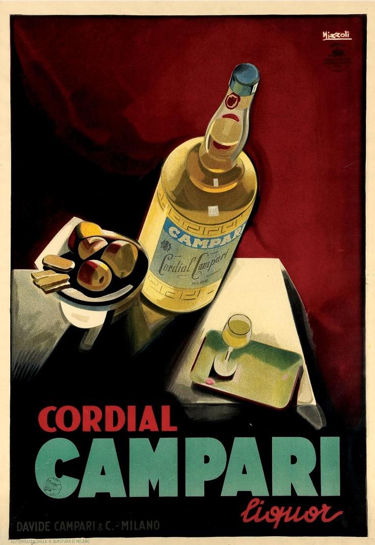 Cordial Campari  Nizzoli, litografia,1925 http://www.astebolaffi.it/index.php?page=lotShow;saleId=565;catNumber=12