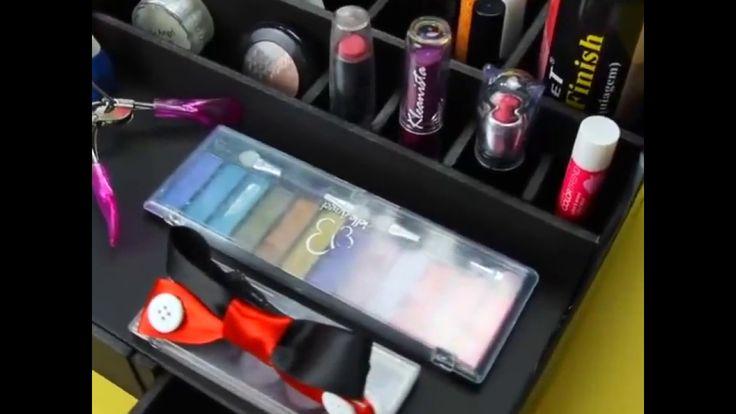 DIY Organizer / Tempat Penyimpanan Make Up murah dan mudah