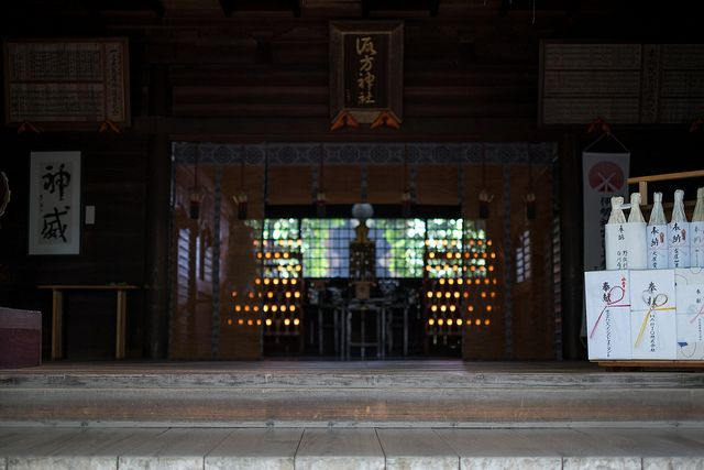 Suwa Shrine in Nippori, Tokyo/諏訪神社