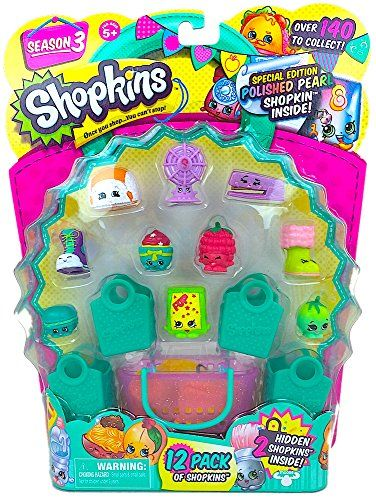 Toy Shopping Carts - Shopkins Season 3 12 Pack Set 25 *** Want additional info? Click on the image.