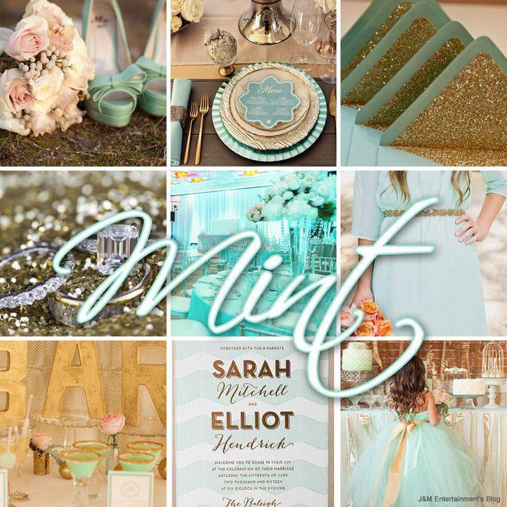 Mint themed wedding lighting ideas 2013