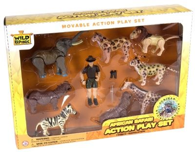 Eco Expedition African Safari at theBIGzoo.com, a toy store featuring 3,000+ stuffed animals.