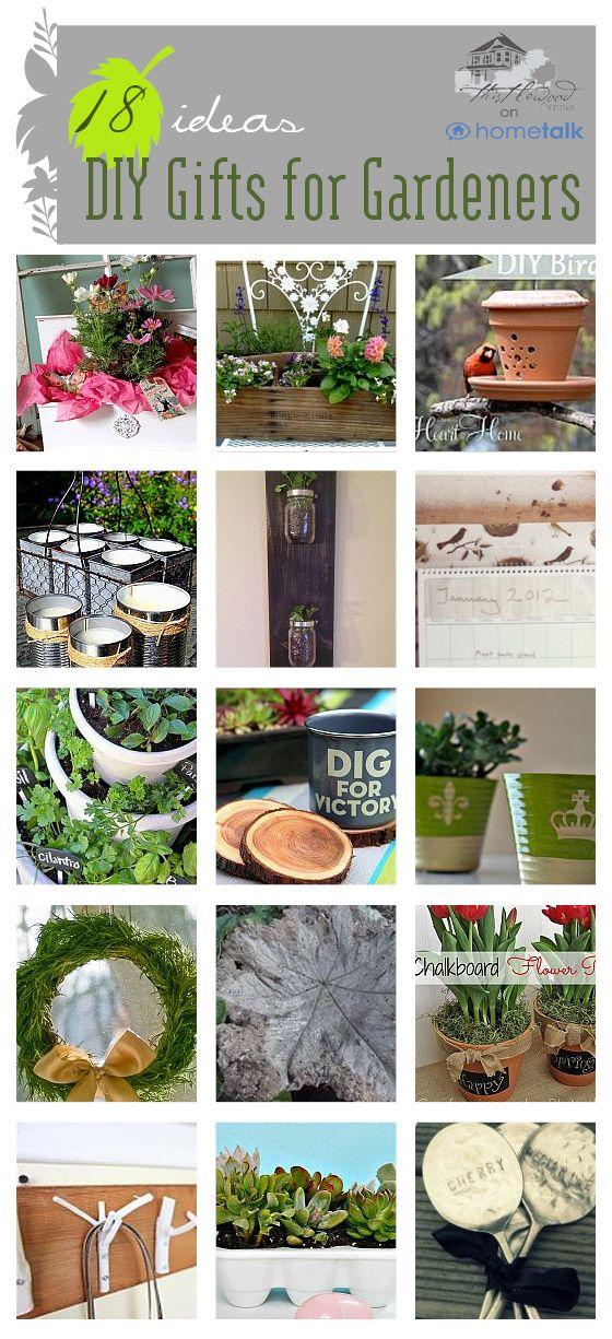 DIY Outdoor Gifts For Gardeners