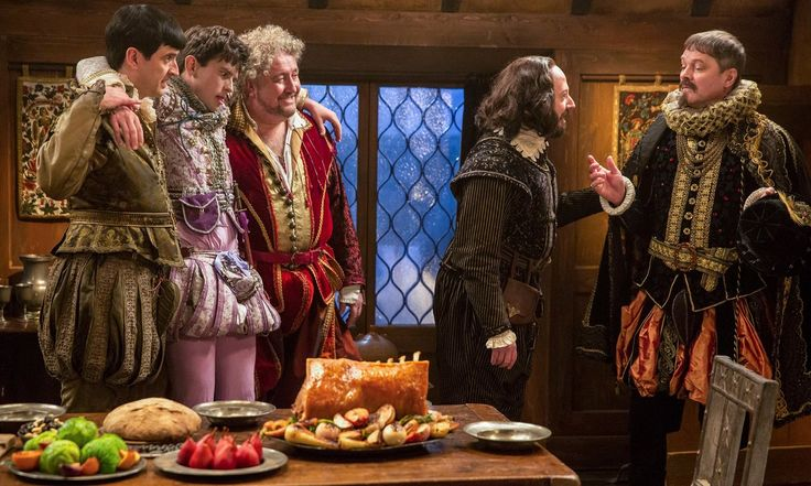 With David Mitchell playing the Bard as a flowery show-off, there's lots to enjoy in this knockabout sitcom with Liza Tarbuck