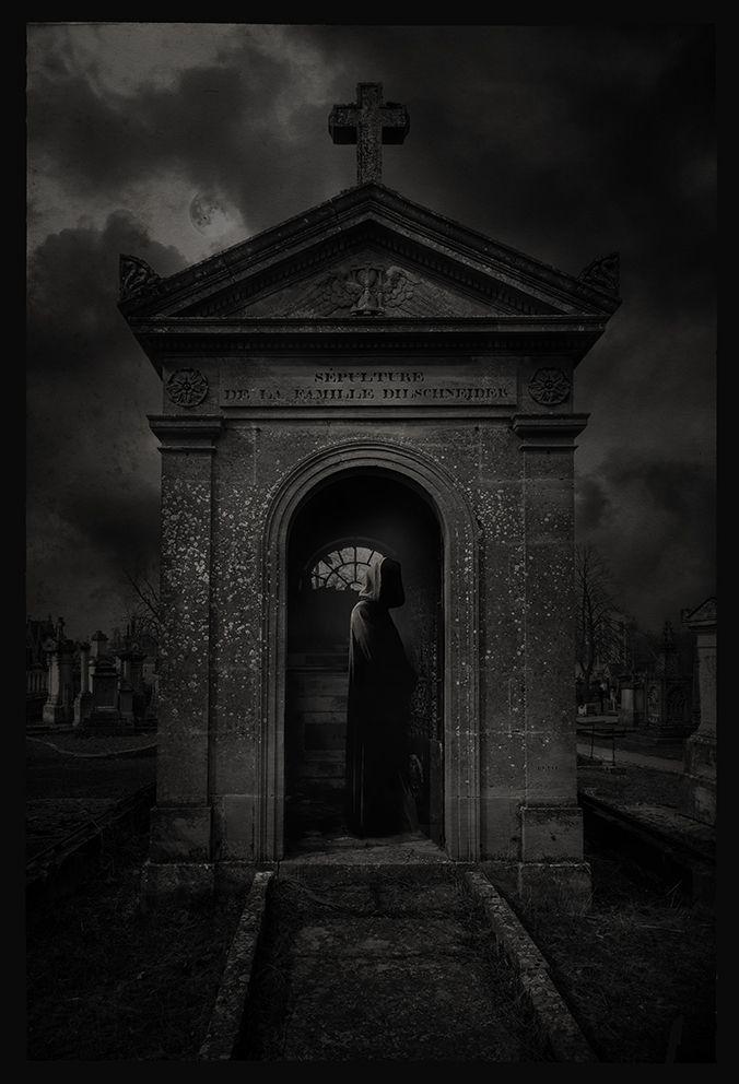 Gothic, Cemetery, Reaper, Friedhof