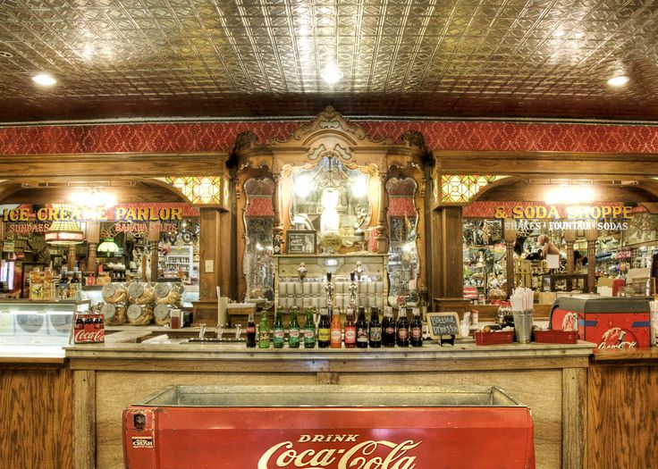 17 best images about ice cream soda shop snow cones on for Old fashioned soda fountain near me