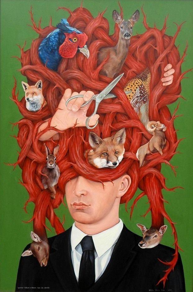 Creative Illustrations by Atilla Galip Pinar