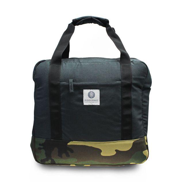 Ridgebake Weekdays Bag - Charcoal/Camo