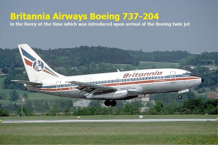Britannia Airways Boeing 737-204
