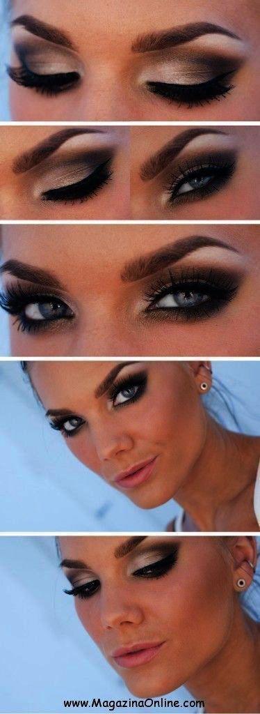 Schminkspiegel Cvs if Makeup Revolution Emily | Make-up Forever Artist Palette mit … – #artis …   – Makeup Tutorial  Smokey