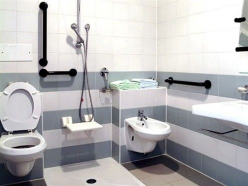 Handicapped Bathroom Design best 25+ handicap toilet ideas on pinterest | ada toilet, handicap