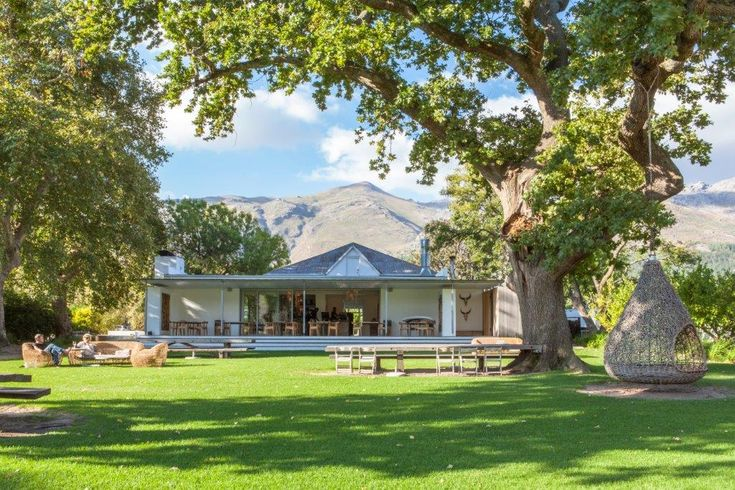 Maison Estate, One Of The Franschhoek Wine Tram's Renowned Stops