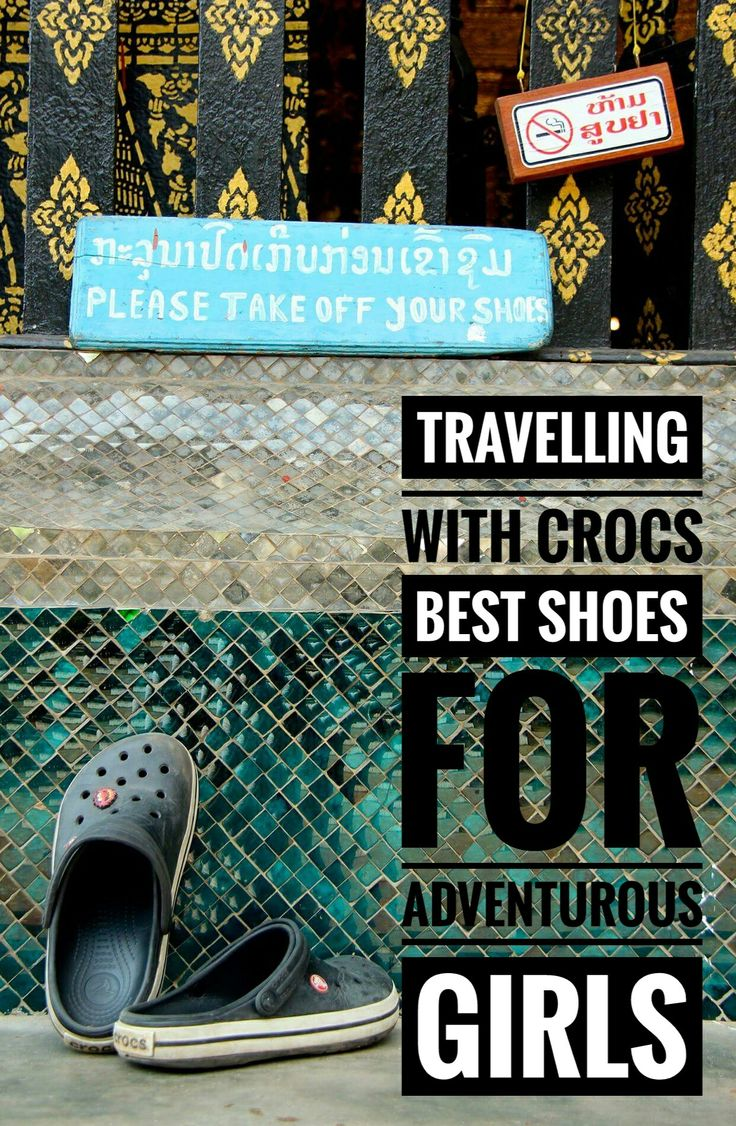 Crocs are neither walking or hiking shoes, however, I wear them for most day of all my adventurous trips. They are light, easy to wear and to clean. Read more...