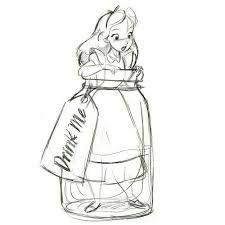 """Résultat de recherche d'images pour """"alice au pays des merveilles dessin"""""""