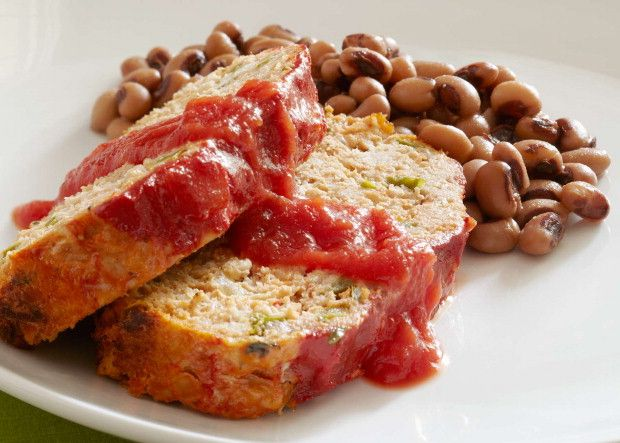 More info for healthier meatloaf. Check out this Simple Cooking with Heart recipe featuring the ultimate American comfort food: meatloaf served with black-eyed peas -- a hearty-healthy side from the South from this American Heart Association.