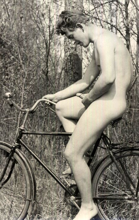 "vintagemaleeroticapart2: ""  Unknown model. 1950s """