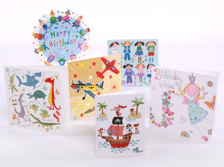 Selection of children's greetings cards, by various artists