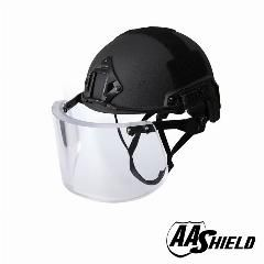 [ $200 OFF ] Aa Shield Ballistic Ach High Cut Tactical Safety Helmet Bulletproof Glass Mask Body Armor Aramid Core Nij Iiia 3A Kit Black