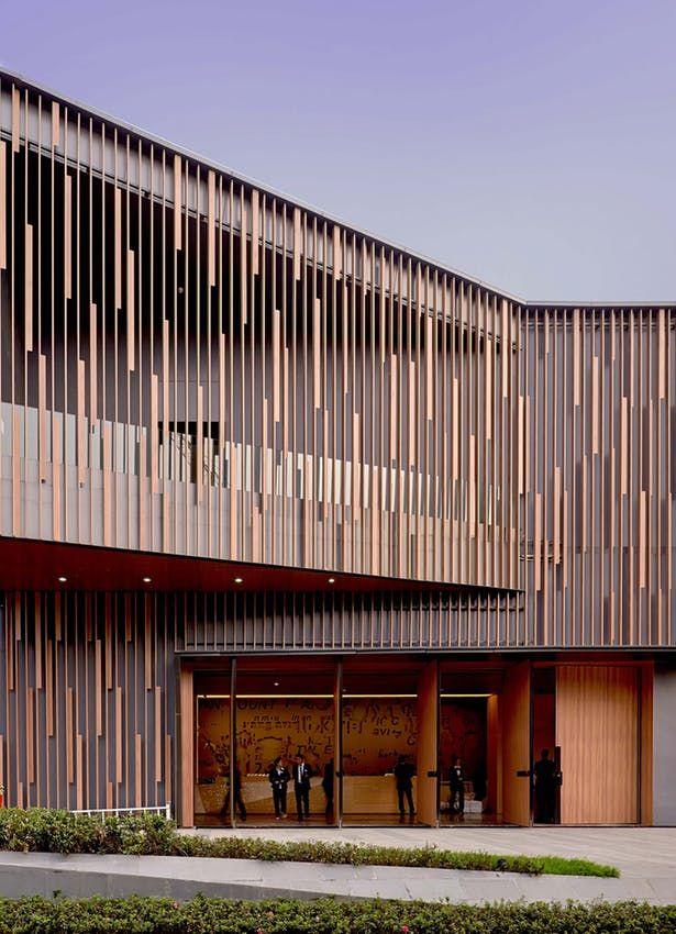 Cvic Gallery Studio Link Arc Llc Archinect Facade Architecture Design Facade Architecture Facade House