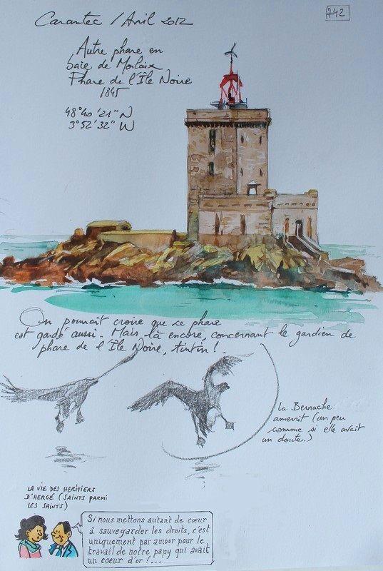 Carantec - Mai 2012 - TOME 6 par Yann Lesacher, illustrateur, peintre et croqueur