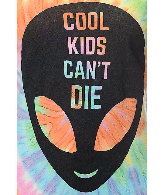 A-Lab Cool Kids Tie Dye T-Shirt