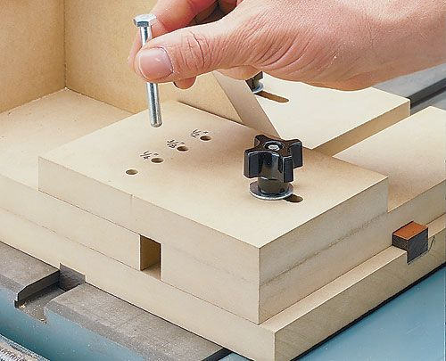Tenoning Jig Plan For Table Saw