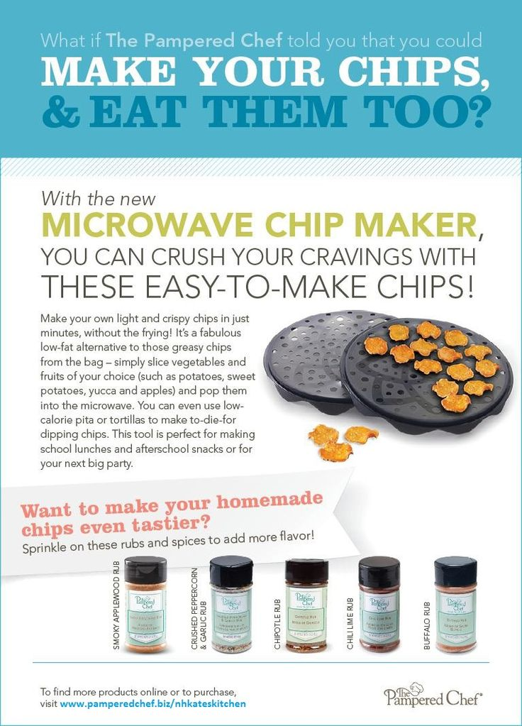 The Microwave Chip Maker Is Amazing Not Only Can You