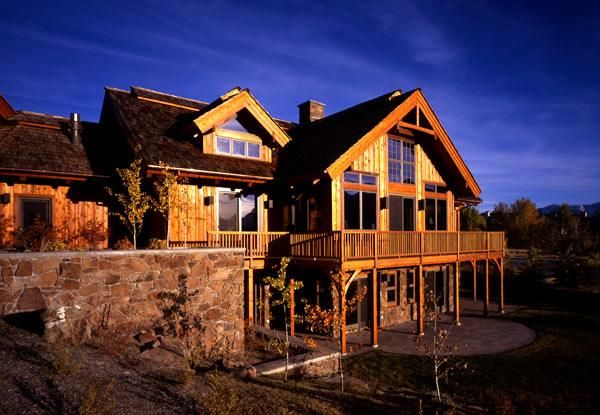 Sun Valley Idaho Timber Frame Home Timberpeg Timber