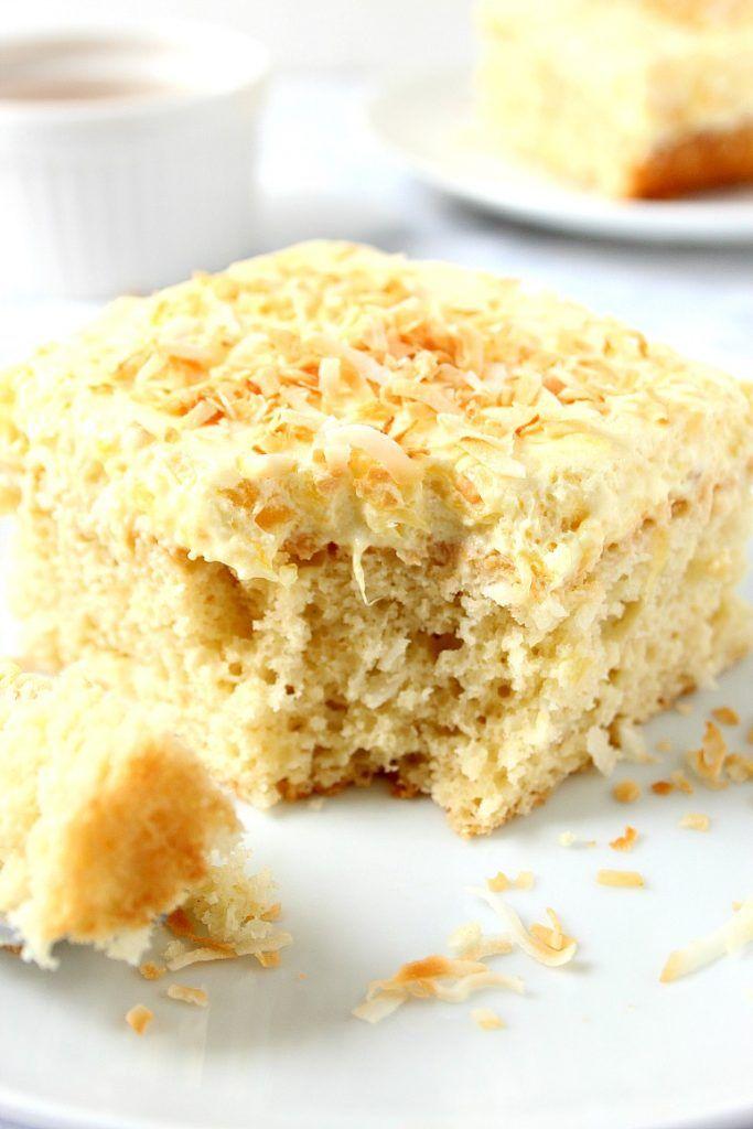 coconut pineapple cake 1 Coconut Pineapple Cake Recipe