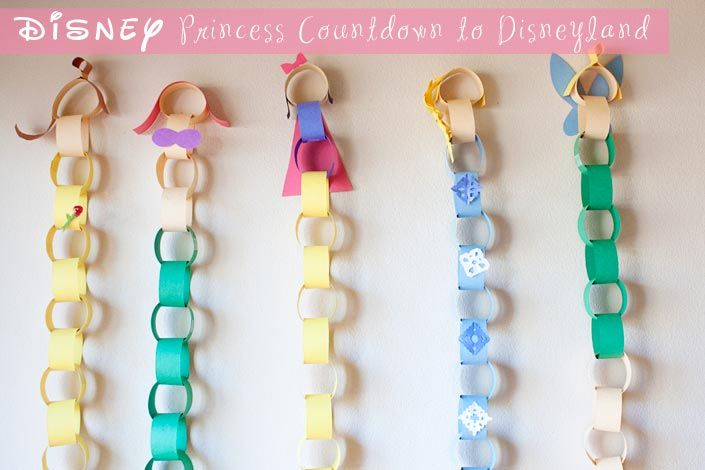 Disney Princess Disneyland Countdown - Making the World Cuter