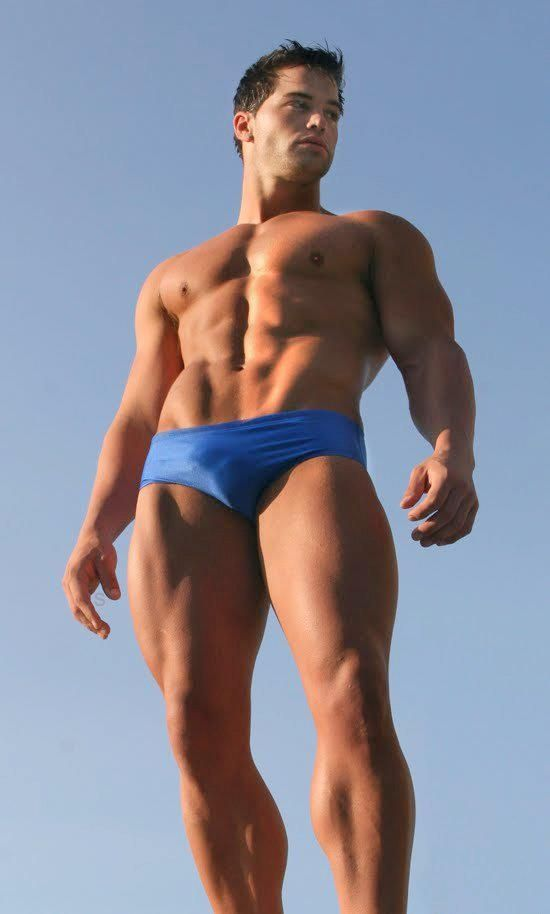 Fitness male model and wellness coach Jed Hill