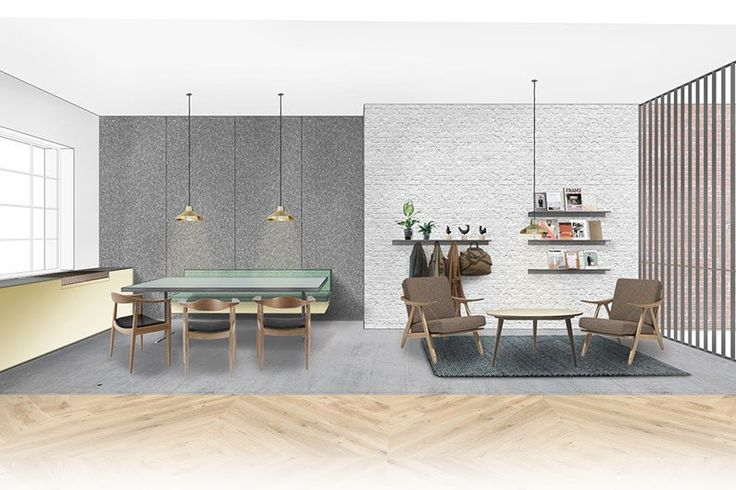 Design concept for our all new #London showroom in #Clerkenwell. A spacious two-story premises it has been designed to be both inspirational and flexible. Opens May 9th 2016. #havwoods #woodflooring #architecture #interiordesign #interiorstyling #innovative #WoodThatWorks