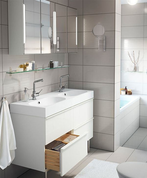 81 best porcelanosa images on pinterest homes bathroom for Ikea bathroom design