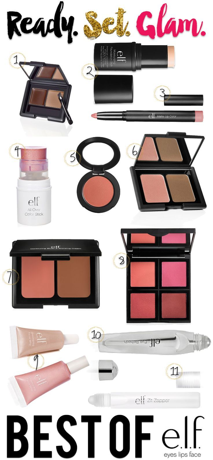 If you're looking for amazing, great quality makeup on the cheap, then you need to check out the best Elf products and get your shop on! (Best Blush For Medium)