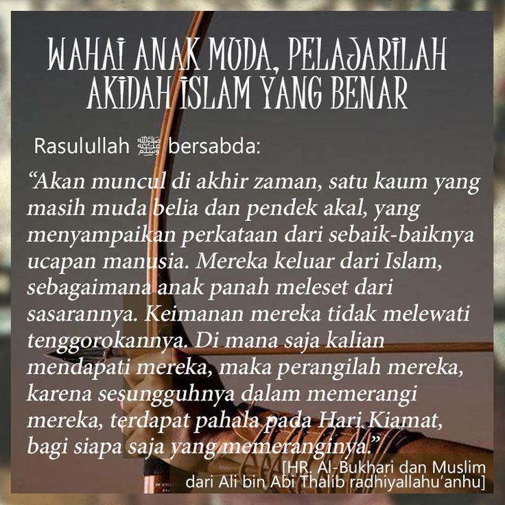 Follow @NasihatSahabatCom http://nasihatsahabat.com #nasihatsahabat #mutiarasunnah #motivasiIslami #petuahulama #hadist #hadis #nasihatulama #fatwaulama #akhlak #akhlaq #sunnah  #aqidah #akidah #salafiyah #Muslimah #adabIslami #DakwahSalaf # #ManhajSalaf #Alhaq #Kajiansalaf  #dakwahsunnah #Islam #sunnah #tauhid #dakwahtauhid #Alquran #kajiansunnah #salafy #Khawarij #Khowarij #demonstrasi #pemerintah #penguasa #kerongkongan #tenggorokan #pelajarilahakidahIslamyangbenar #AnakPanah #busurnya