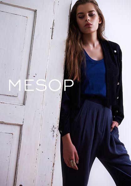 Autumn 2014 Mesop campaign #mesop #autumn2014 #norsecode