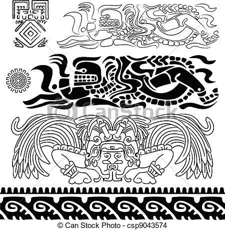 tribal mayan gods maya mayan tribal polynesian maya inca mayan art ...