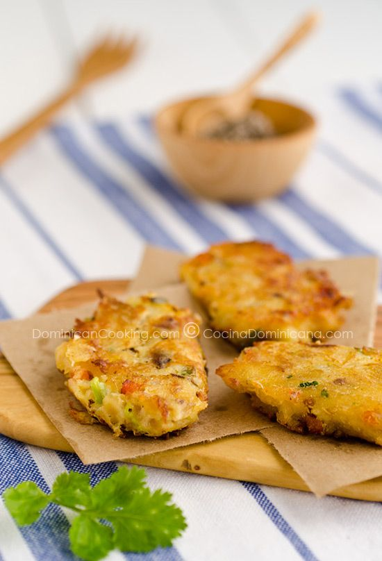 Codfish fritters are a pan-Caribbean food, known and loved in the Dominican Rep., Cuba, Puerto Rico and Jamaica. Easy, tropical and yummy.