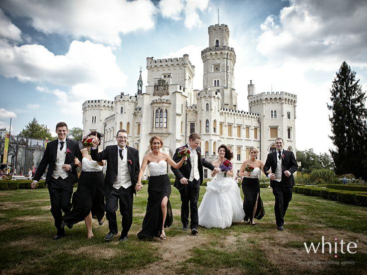 this black tie affair just looks like too much fun!!!! http://www.weddingchicks.com/vendor-guide/white-prague-wedding-agency/