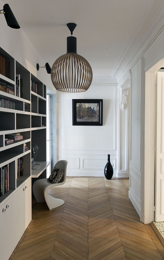 17 meilleures id es propos de biblioth ques sur. Black Bedroom Furniture Sets. Home Design Ideas