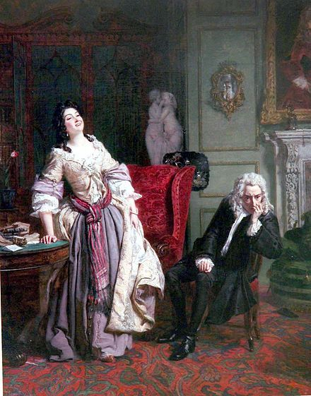Lady Mary Wortley Montagu - Alexander Pope declared his love for Lady Mary who responded with Laughter.........