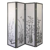 "Found it at Wayfair - 70"" x 68"" 4 Panel Room Divider I"