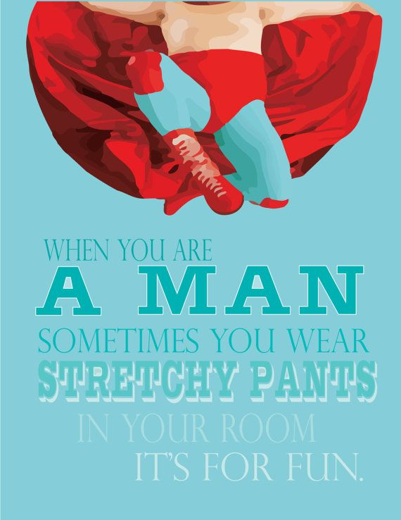 nacho libre..  when you become a man you by studiomarshallarts, $20.00