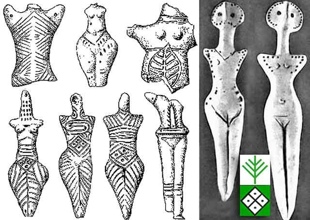 Trypillian Goddesses