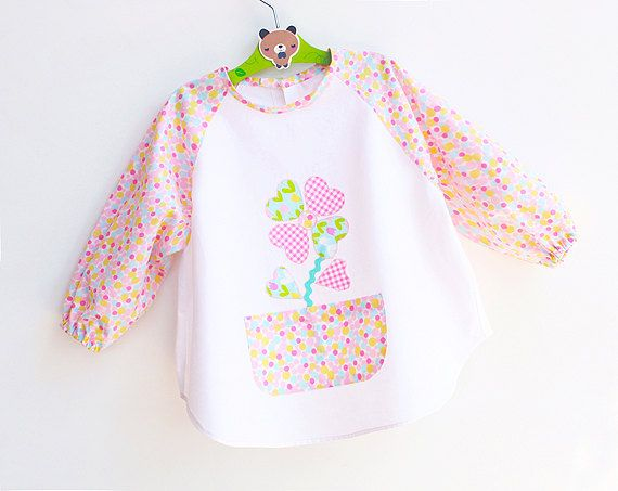 ❀★ TWO APRON or SMOCK patterns at a special price!! For Babies and Children, both aprons are fine for Girls and Boys 12 months up to 6 years old!!