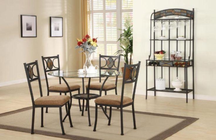 Acme Furniture - Desi 6 Piece Round Dining Table Set - 70365-6SET