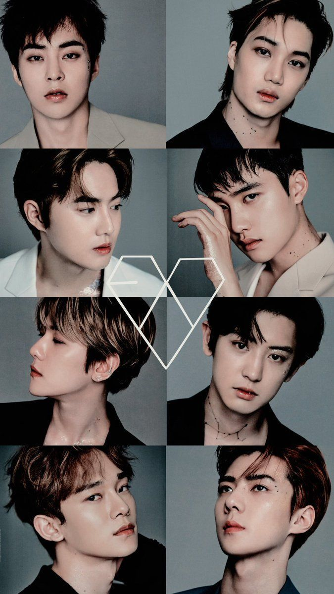 The EXO members just get better and better with age <3  #Suho #Sehun